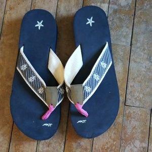 Jcrew fip flops